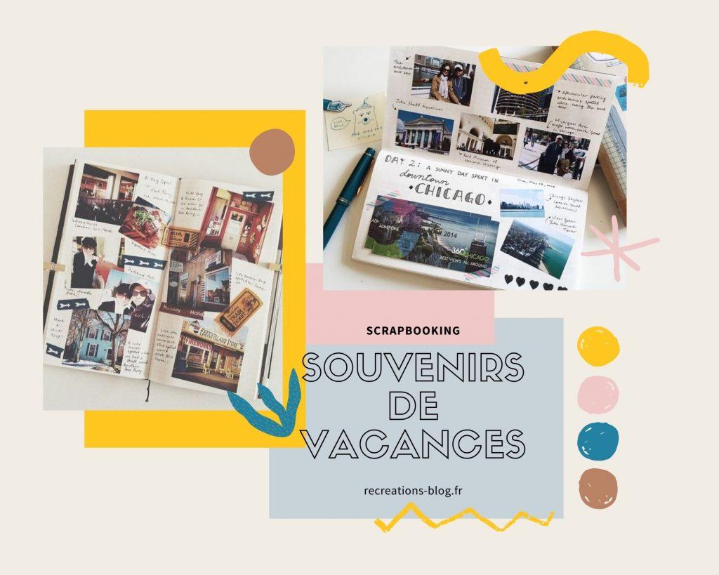 Rentrée: scrapbooking souvenirs de vacances